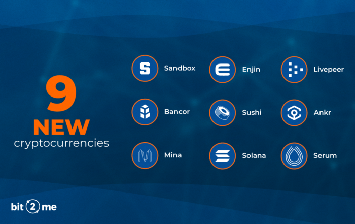 New cryptocurrencies to buy