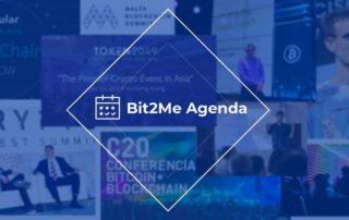 bit2me agenda, guia eventos blockchain