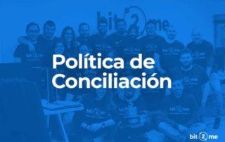 Politica Conciliacion Bit2Me