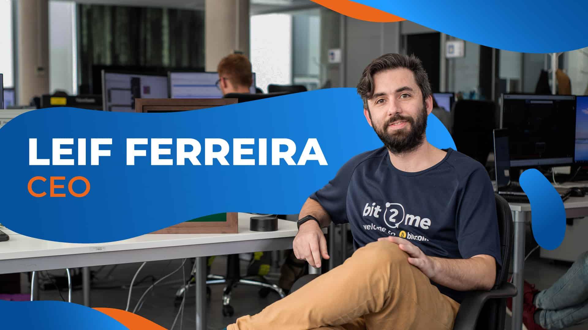 Leif Ferreira, CEO de Bit2Me