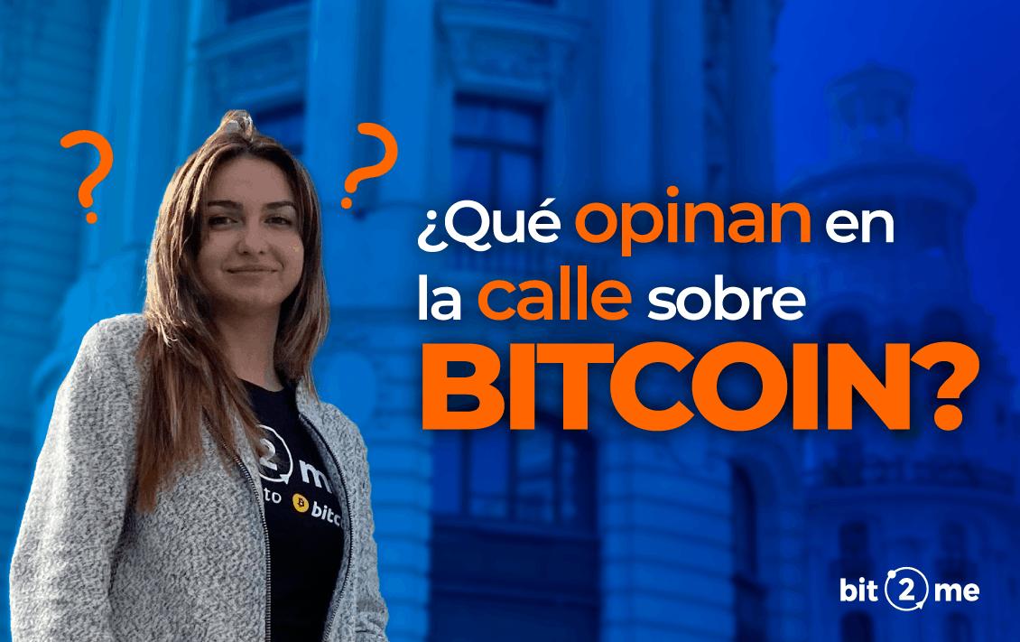 Reportaje bitcoin Madrid