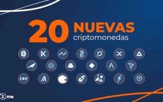 20 nuevas criptomonedas